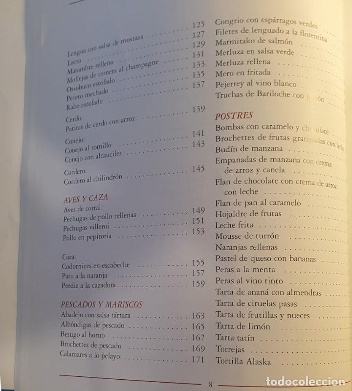 Libros de segunda mano: LIBRO KARLOS ARGUIÑANO COCINA EN ARGENTINA - 1ª EDICION 1997 - Foto 6 - 249221010
