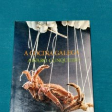 Libros de segunda mano: A COCIÑA GALEGA, ALVARO CUNQUEIRO. Lote 274267588