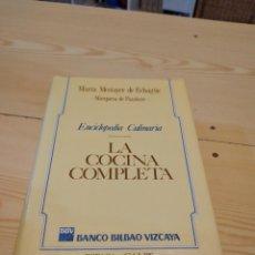 Libros de segunda mano: M-24 LIBRO LA COCINA COMPLETA. ENCICLOPEDIA CULINARIA. MARÍA MESTAYER DE ECHAGÜE. ESPASA CALPE. Lote 251573310