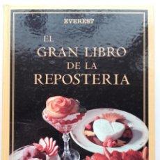 Libros de segunda mano: EL GRAN LIBRO DE LA REPOSTERIA - CHRISTIAN TEUBNER / ANNETTE WOLTER - EDITORIAL EVEREST - 2000. Lote 251989950