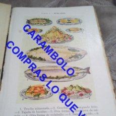 Livres d'occasion: 1931 1ª ED COCINA CARMEN DE BURGOS QUIERE USTED COMER BIEN? PRECISA ENCUADERNACION GASTRONOMIA U44. Lote 252507125