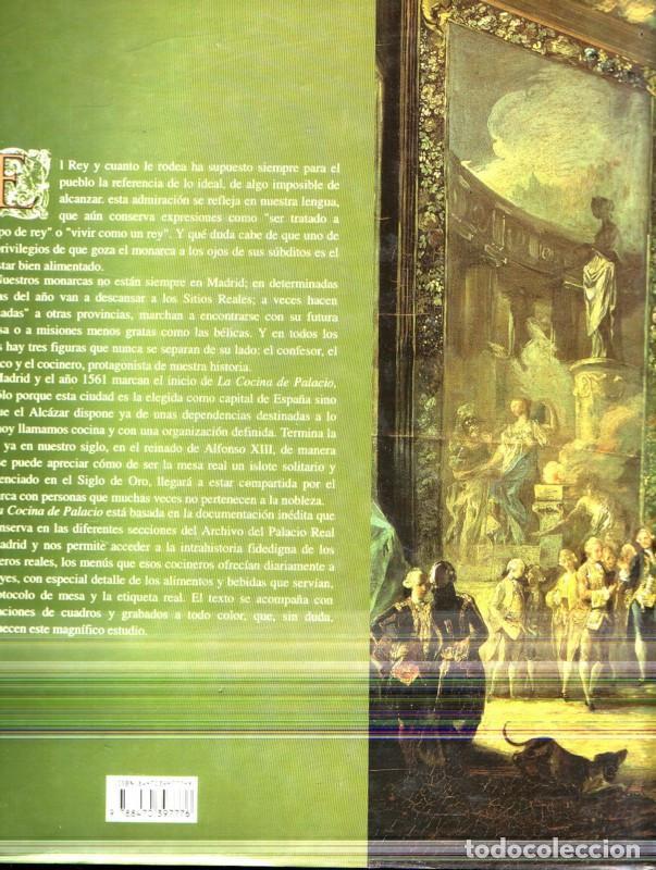 Libros de segunda mano: LA COCINA DE PALACIO 1561-1931.María del Carmen Simón Palmer. - Foto 2 - 190359865