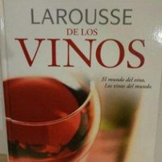 Libros de segunda mano: LIBRO LAROUSSE DE LOS VINOS. Lote 253657770