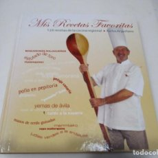Libros de segunda mano: KARLOS ARGUIÑANO MIS RECETAS FAVORITAS W6661. Lote 257606035