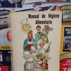 Libros de segunda mano: MANUAL DE HIGIENE ALIMENTARIA....AYUNTAMIENTO DE BURGOS....1991.... Lote 257607050
