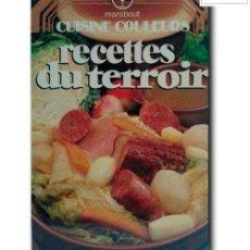 Libros de segunda mano: RECETTES DU TERROIR. MARABOUT. Lote 257609110