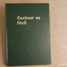 Libros de segunda mano: COCINAR ES FACIL MONTSERRAT SEGUÍ 3ª EDICIÓN 1979. Lote 258131435