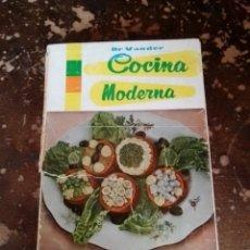 Livres d'occasion: COCINA MODERNA (DR. VANDER). Lote 258185880