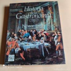 Libros de segunda mano: HISTORIA DE LA GASTRONOMIA. NESTOR LUJAN. 1988. PLAZA & JANES. 286 PAGS.. Lote 268459579