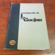 Libros de segunda mano: ENCICLOPEDIA DE LA COCINA - L. CARNACINA 1962 VERGARA. Lote 260679635