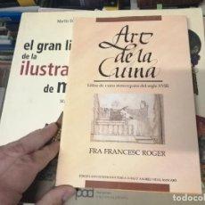 Libros de segunda mano: ART DE LA CUINA. LLIBRE DE CUINA MENORQUINA DEL SEGLE XVIII . FRA FRANCESC ROGER. 1993. MENORCA. Lote 261144935