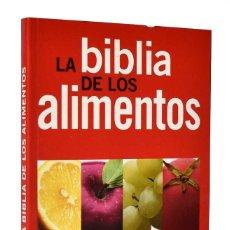 Libros de segunda mano: LA BIBLIA DE LOS ALIMENTOS. Lote 262018360