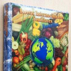 Livres d'occasion: RECETAS INTERNACIONALES FAMILIARES FAVORITAS - KALENUIK, RON. Lote 263133965