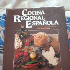 Libros de segunda mano: COCINA REGIONAL ESPAÑOLA-GRANDES MAESTROS DE COCINA. Lote 263174905