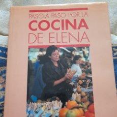 Libros de segunda mano: PASO A PASO POR LA COCINA DE ELENA- PLAZA Y JANES. Lote 263179290