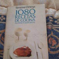 Libros de segunda mano: 1080 RECETAS DE COCINA - SIMONE ORTEGA. Lote 263185595