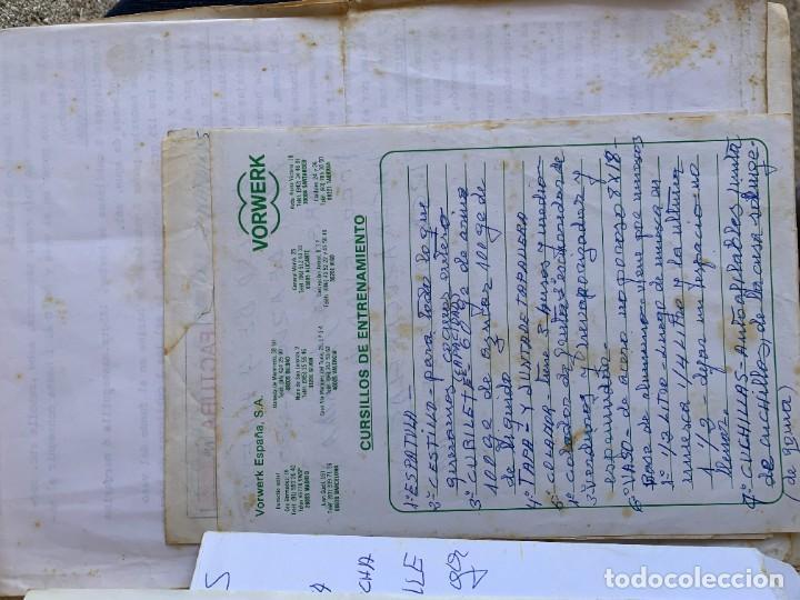 Libros de segunda mano: COCINANDO CON THERMOMIX VORWERK RECETAS APUNTES 31X22CMS - Foto 6 - 264190388