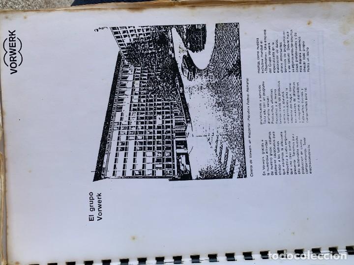 Libros de segunda mano: COCINANDO CON THERMOMIX VORWERK RECETAS APUNTES 31X22CMS - Foto 7 - 264190388