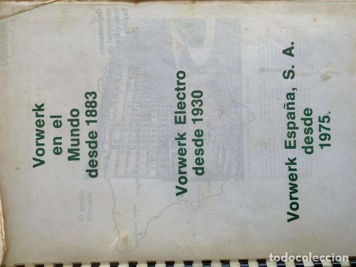 Libros de segunda mano: COCINANDO CON THERMOMIX VORWERK RECETAS APUNTES 31X22CMS - Foto 8 - 264190388