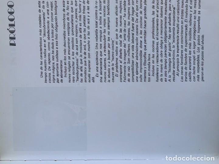 Libros de segunda mano: COCINANDO CON THERMOMIX VORWERK RECETAS APUNTES 31X22CMS - Foto 13 - 264190388
