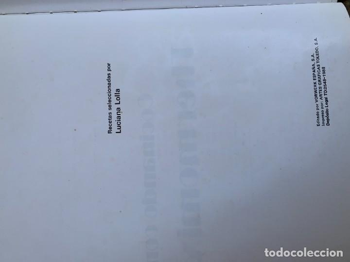 Libros de segunda mano: COCINANDO CON THERMOMIX VORWERK RECETAS APUNTES 31X22CMS - Foto 15 - 264190388