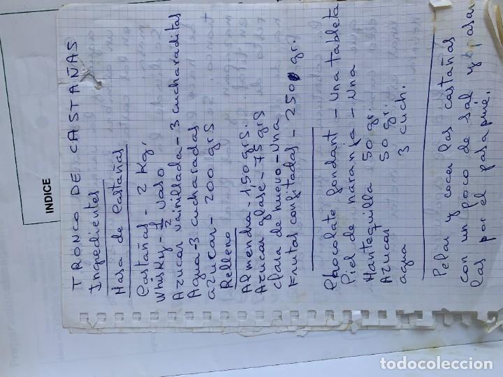 Libros de segunda mano: COCINANDO CON THERMOMIX VORWERK RECETAS APUNTES 31X22CMS - Foto 16 - 264190388