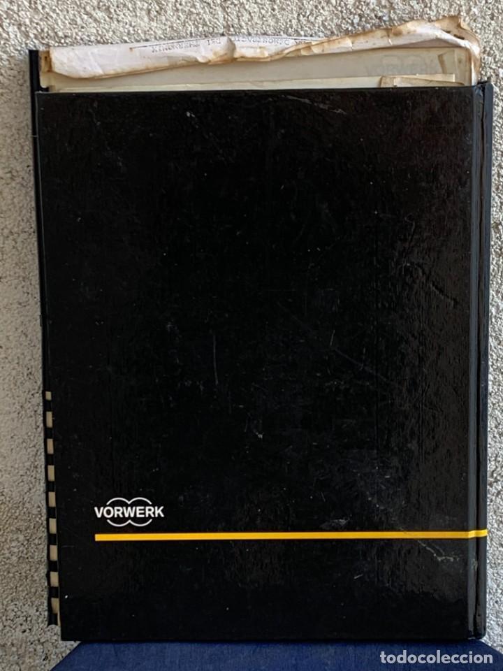 Libros de segunda mano: COCINANDO CON THERMOMIX VORWERK RECETAS APUNTES 31X22CMS - Foto 19 - 264190388