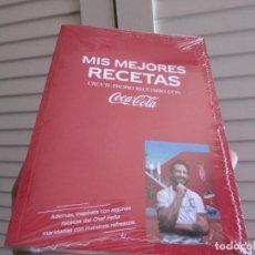 Livros em segunda mão: MIS MEJORES RECETAS, CREA TU PROPIO RECETARIO CON COCA-COLA. CHEF JAVIER PEÑA.PRECINTADO. Lote 264191324