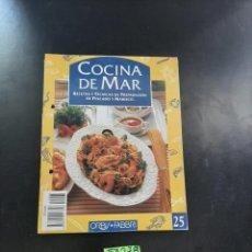Libros de segunda mano: COCINA DEL MAR. Lote 264727699