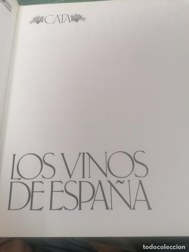 LOS VINOS DE ESPAÑA. (Libros de Segunda Mano - Cocina y Gastronomía)