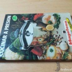 Livres d'occasion: COCINAR A PRESION / 260 RECETAS / MAGEFESA / AH45. Lote 267239569