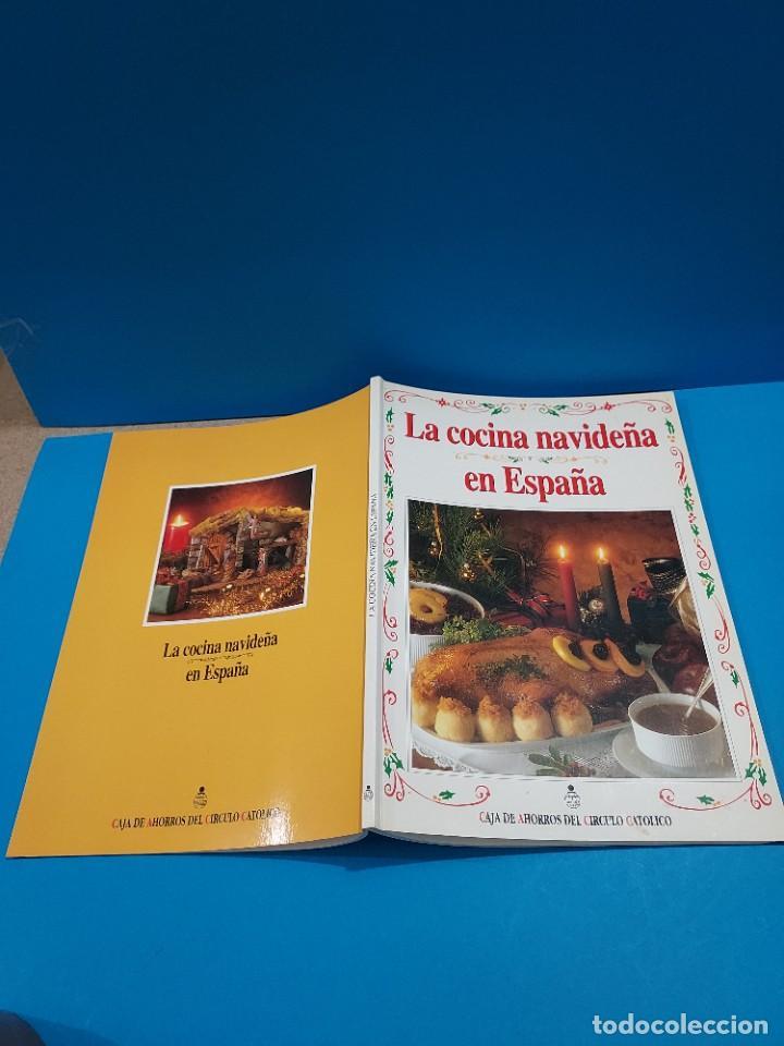Libros de segunda mano: LA COCINA NAVIDEÑA EN ESPAÑA...1996... - Foto 2 - 268870624