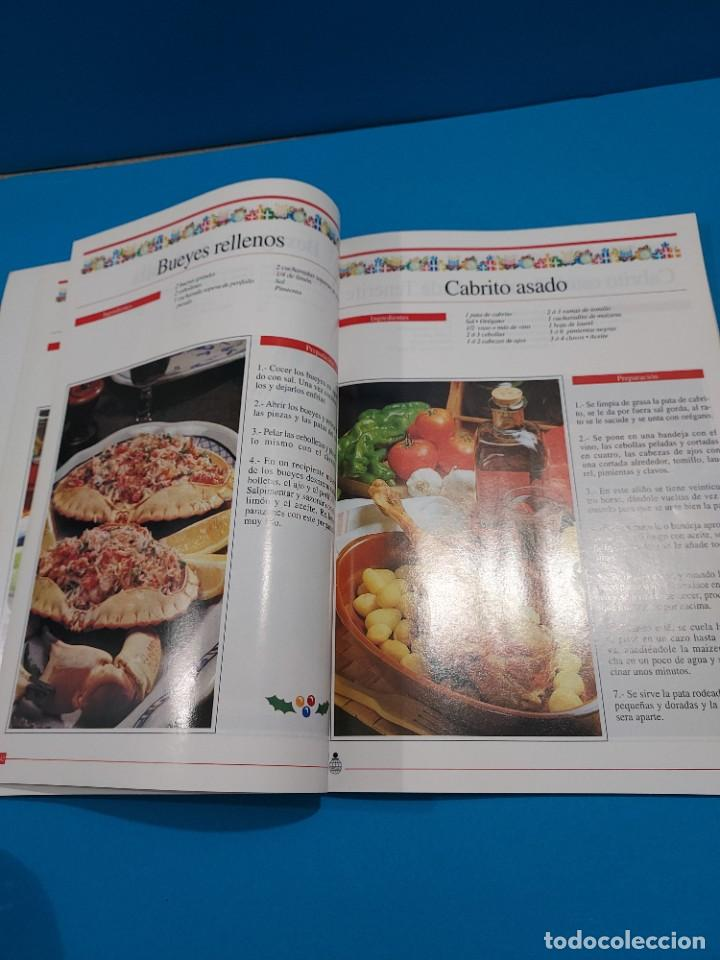 Libros de segunda mano: LA COCINA NAVIDEÑA EN ESPAÑA...1996... - Foto 9 - 268870624