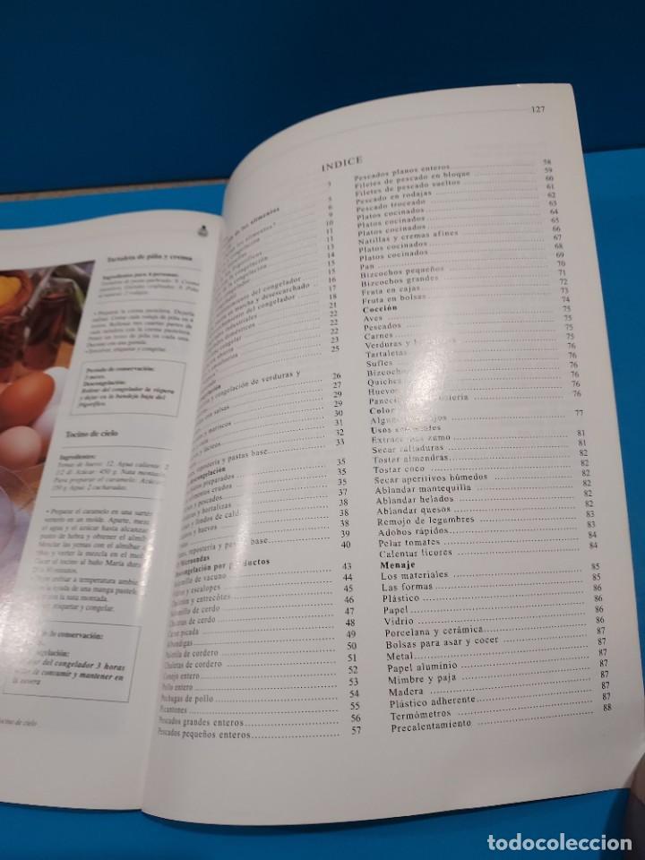 Libros de segunda mano: EL ARTE DE CONGELAR, DESCONGELAR Y COCINAR...1998... - Foto 4 - 268871239