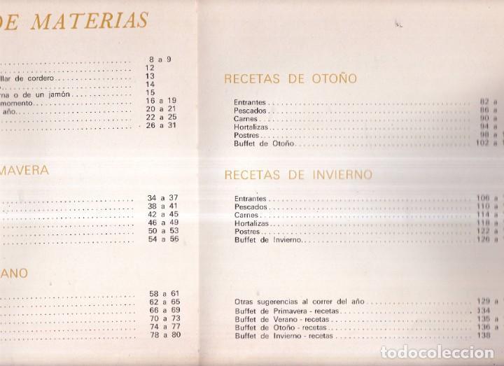 Libros de segunda mano: LA COCINA EN 4 ESTACIONES, COCINA CLÁSICA - EDITORIAL TEIDE 1969 - Foto 2 - 268871694