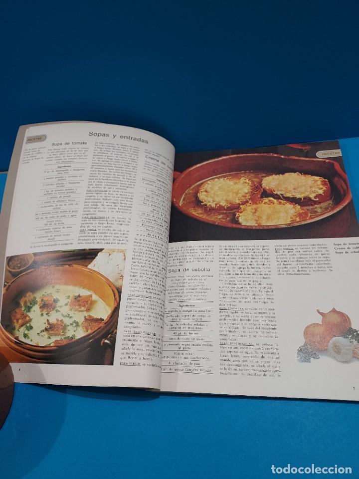 Libros de segunda mano: COCINAR Y CONGELAR...150 RECETAS DE COCINA Y SU CONGELACION....1984.. - Foto 5 - 268871814