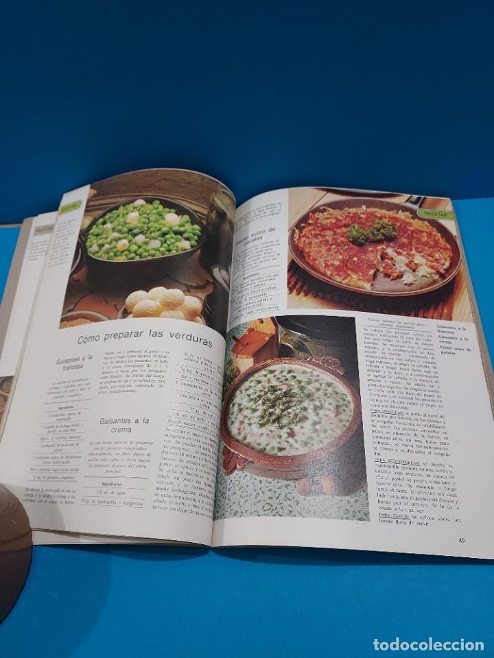 Libros de segunda mano: COCINAR Y CONGELAR...150 RECETAS DE COCINA Y SU CONGELACION....1984.. - Foto 7 - 268871814