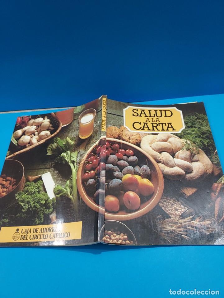 Libros de segunda mano: SALUD A LA CARTA........1982.... - Foto 2 - 268872384