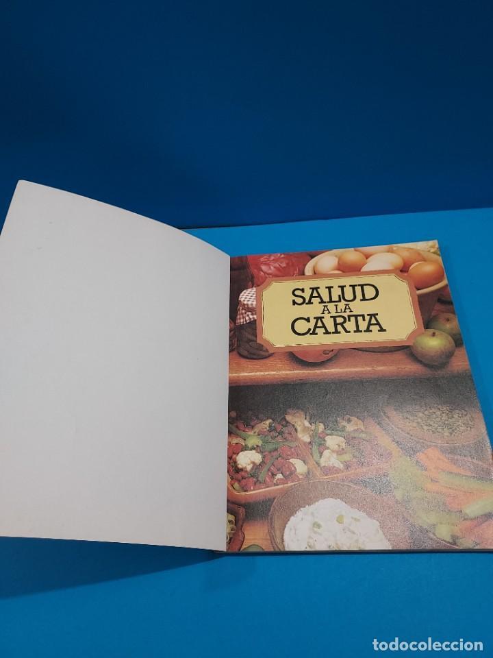 Libros de segunda mano: SALUD A LA CARTA........1982.... - Foto 3 - 268872384