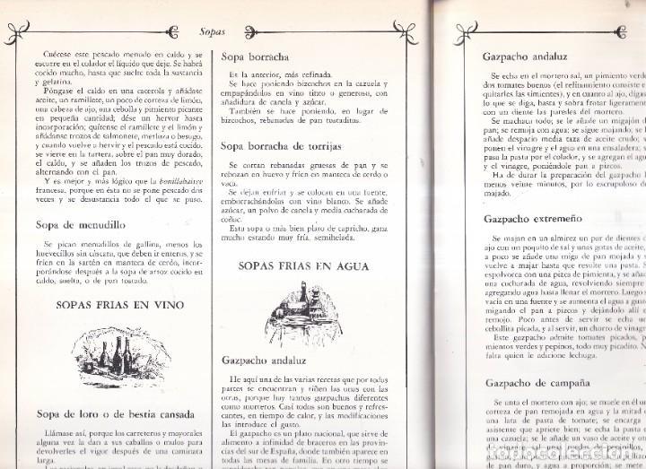 Libros de segunda mano: LA COCINA ESPAÑOLA ANTIGUA - CONDESA DE PARDO BAZÁN - EDICIONES PONIENTE 1981 - Foto 3 - 268872819