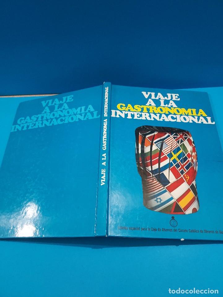 Libros de segunda mano: VIAJE A LA GASTRONOMIA INTERNACIONAL....1975.. - Foto 2 - 268873224