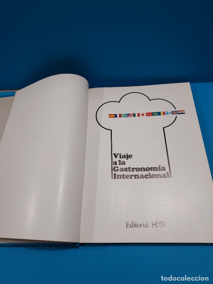 Libros de segunda mano: VIAJE A LA GASTRONOMIA INTERNACIONAL....1975.. - Foto 3 - 268873224