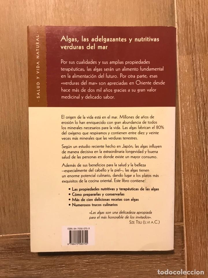 Libros de segunda mano: Las verduras del mar Algas - Foto 10 - 268903849