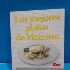 Libros de segunda mano: LOS MEJORES PLATOS DE MAIZENA...1987.... Lote 268916999