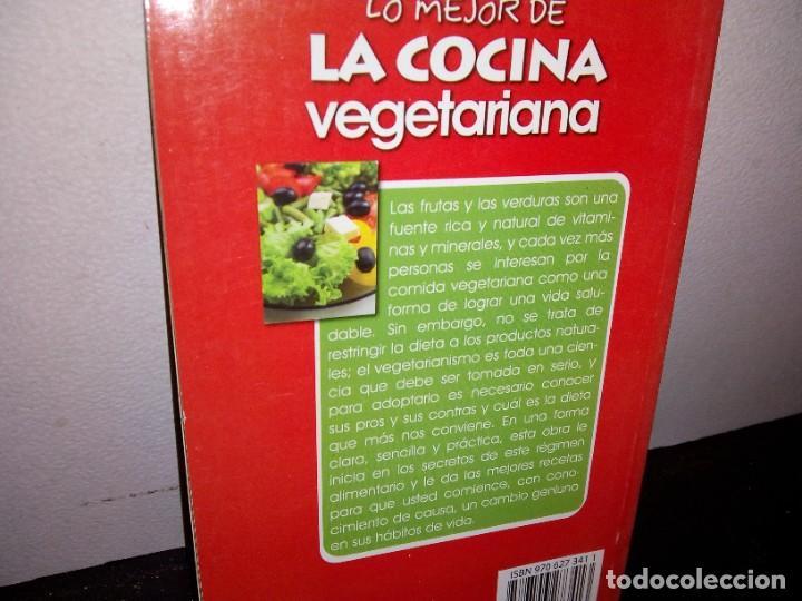 Libros de segunda mano: 25- Lo mejor de la cocina vegetariana - Foto 3 - 269063158
