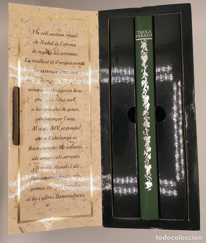 Libros de segunda mano: Taula parada, De Nadal a Reis, de Caixa de Girona, 2004. Perspectiva Editorial Cultural, S.A. - Foto 2 - 269066258