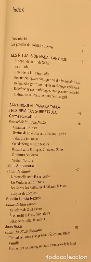 Libros de segunda mano: Taula parada, De Nadal a Reis, de Caixa de Girona, 2004. Perspectiva Editorial Cultural, S.A. - Foto 6 - 269066258
