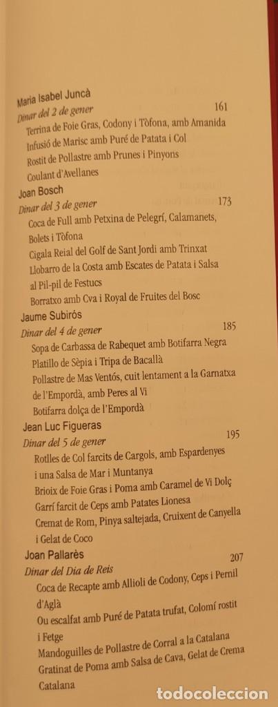 Libros de segunda mano: Taula parada, De Nadal a Reis, de Caixa de Girona, 2004. Perspectiva Editorial Cultural, S.A. - Foto 8 - 269066258