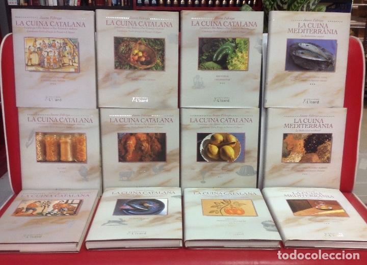 LA CUINA CATALANA+ LA CUINA MEDITERRANEA, 12 TOMOS, OBRA COMPLETA, POR JAUME FABREGA, 1999 (Libros de Segunda Mano - Cocina y Gastronomía)