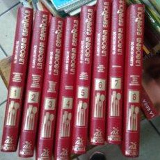 Libros de segunda mano: EL LIBRO DE ORO DE LA COCINA ESPAÑOLA. COMPLETA 8 TOMOS. ENCI-4 BIS (I). Lote 270925708